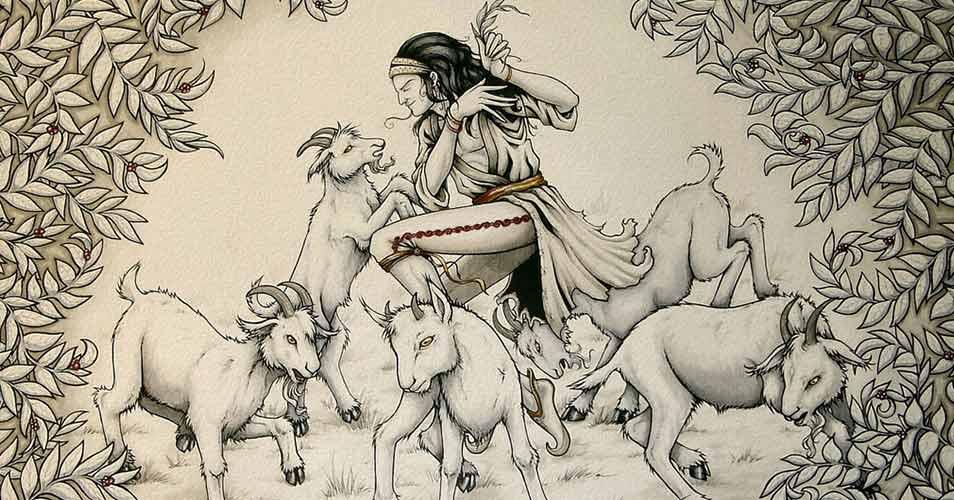 Эфиопские козы стали первооткрывателями кофе