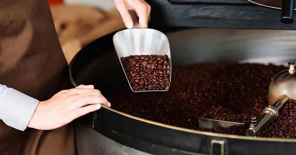 Свежеобжаренный кофе в зернах Табера